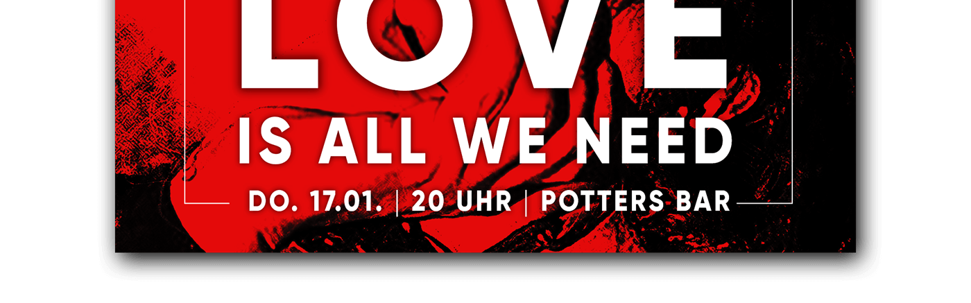 Potters Cocktail Bar Hildesheim Love is all we need Event