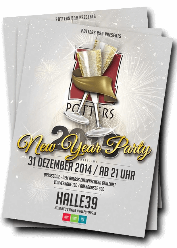 Potters New Year Party 2014