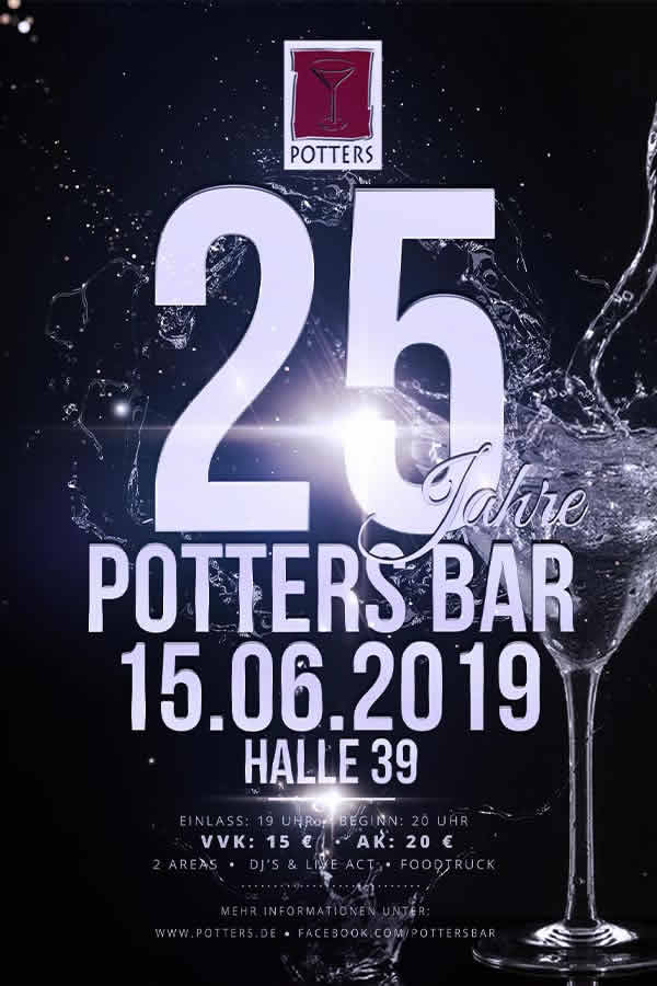 Potters Bar 25 Jahre Party Teil 1